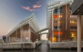 دانلود اتوکد پلان موزه مدرن