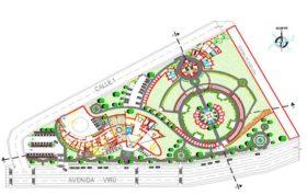 دانلود اتوکد طراحی موزه گیاه شناسی