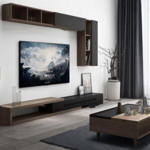 مدل سه بعدی میز و تلویزیون برای ۳dmax