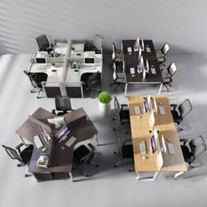 آبجکت مدل سه بعدی صندلی اداری مدرن 3dmax