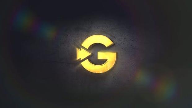 پروژه آماده افترافکت لوگوی طلایی Gold Logo